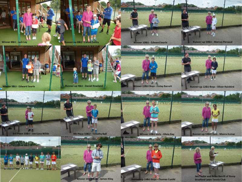 2012 SSLTC Junior Open - Presentations