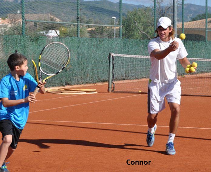 Connor's Forehand