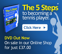 The 5 Steps To Becoming a Tennis Player